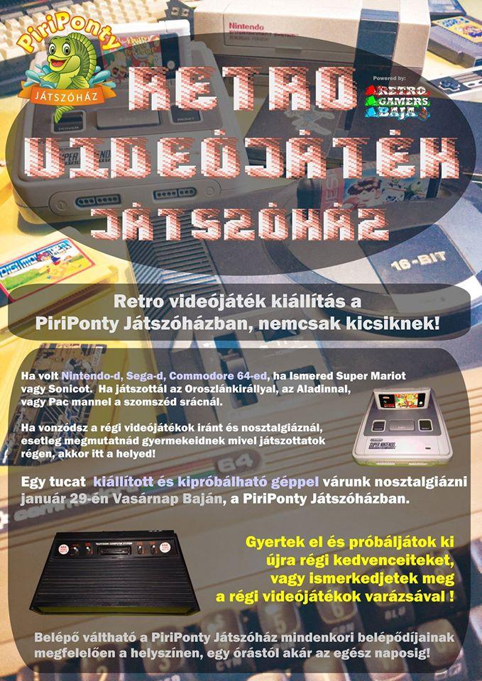 Retro Videójáték és Számítógép Kiállítás